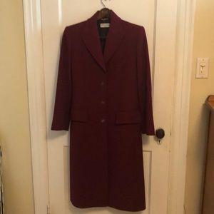Dolce & Gabbana single breasted tailored coat